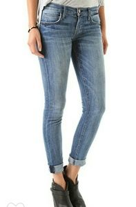 Current/Elliott  The Rolled Skinny Jeans